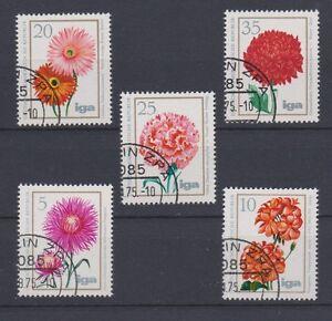 * Allemagne * Fleurs, 5pcs, Annulation, Nh/og-afficher Le Titre D'origine