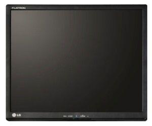 """Lg Flatron T1910bp-bn 19"""" écran Sans Pied De Support-afficher Le Titre D'origine Produire Un Effet Vers Une Vision Claire"""