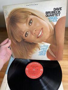 Dave Brubeck Quartet Angel Eyes Columbia Vinyl Record Album