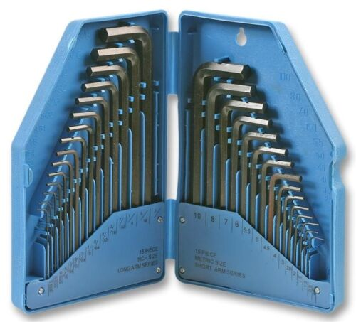 Hex Key Set 30 Pcs