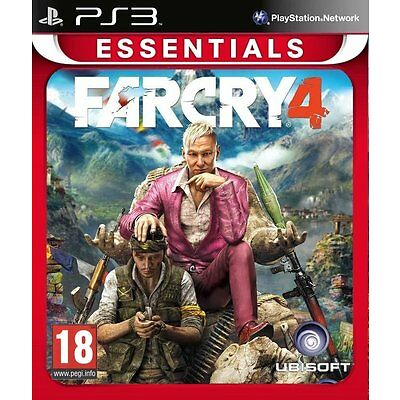 Far Cry 4 Farcry4 PS3 Game