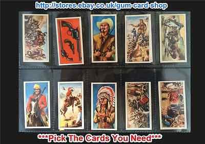 G WILD WEST ACTION 1972 *PLEASE SELECT CARD* BURTON/'S WAGON WHEELS
