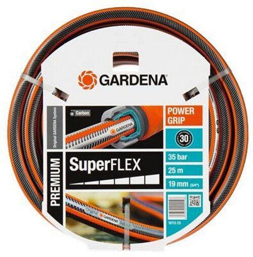 GARDENA Premium SuperFLEX Schlauch Gartenschlauch 19 mm (3 4 4 4 ) 25 m (18113)   Verrückte Preis    Vorzüglich    Modern Und Elegant  b09dc9