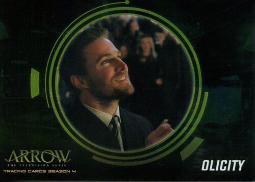 Arrow Season 4 Foil Olicity Chase Card OF4