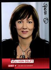 Ulli von Delft ORF Autogrammkarte Orignial Signiert # BC 51634