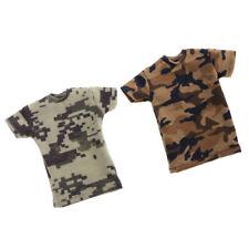 TC männliche 1 6th Scale Graues T Shirt für 12 /'/' HT DML DID SS