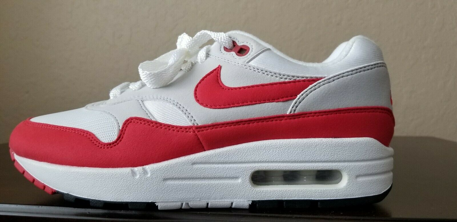 pretty nice 0e6e3 fce46 Nike Air Max 1 OG 30th Anniversary shoes shoes shoes University Red 908375-103  Mens