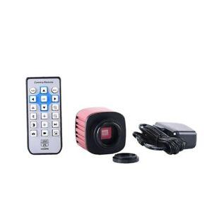 16MP-HDMI-appareil-photo-numerique-USB-Microscope-electronique-oculaire-4K-enregistrement-video