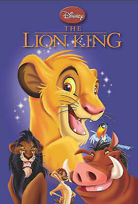"""""""AS NEW"""" , Disney """"Lion King"""", Hardcover Book"""