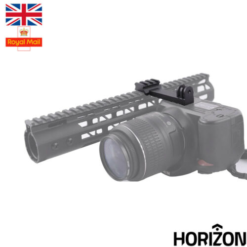 Airsoft 20mm Weaver Rifle Picatinny GoPro Action Camera Mount Accessory Rail UK