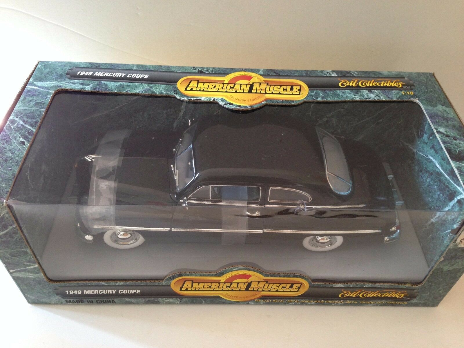ERTL AMERICAN MUSCLE 1949 MERCURY COUPE  1 18 18 18 (SCALE) bfc57c