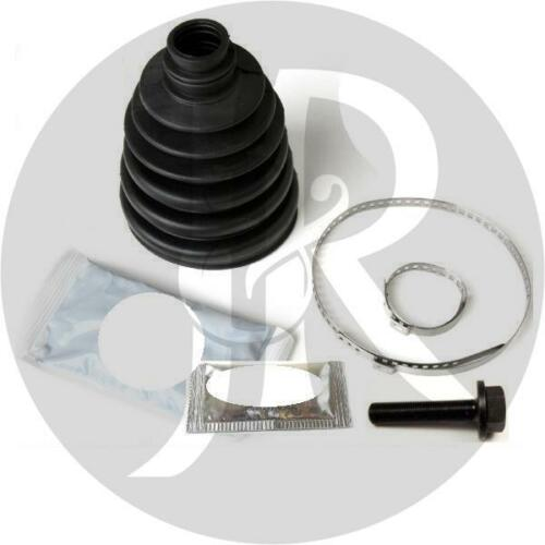 AUDI A4 QUATTRO 4.2 S4 DRIVESHAFT HUB NUT//BOLT /& CV JOINT BOOT KIT 04/>ON