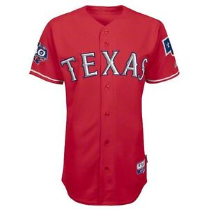 los angeles a4cd4 94784 2012 Texas Rangers 40th Anniv. Authentic Cool Base Alternate ...