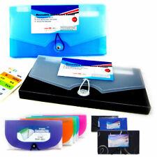 2pc Expanding Document File Accordion Organizer 13 Pocket School Coupon Folder