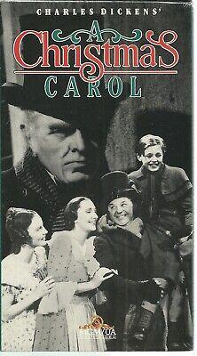 A Christmas Carol VHS 1994 NEW FACTORY SEALED BLACK & WHITE VERSION 1938 DICKENS 27616145130 | eBay