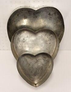 Heart Shaped Baking Cake Pans Tin