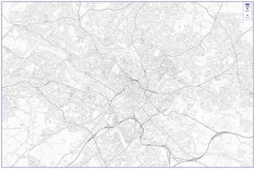 Street Map of Leeds