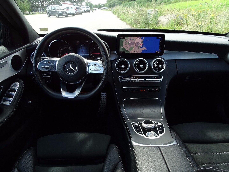 Mercedes C220 d 2,0 AMG Line stc. aut. - billede 9