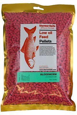 Prezzo Più Basso Con Bloodworm Basso Olio Mangime Pellet Per Pesca Carpa E Grossa, 5 Mm-