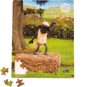 SMALLFOOT-PUZZLE-BOIS-100-PIECES-SHAUN-LE-MOUTON-COURS-DE-DANSE-10222