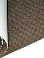 BROWN BASKET VINYL UPHOLSTERY SAILING BOAT CAR DINING BENCH SEATS  VINPF3