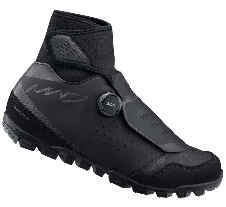 Shimano MW7 Bicicleta de Montaña Boa MTB Zapatos Invierno Negro MW701-46 (US