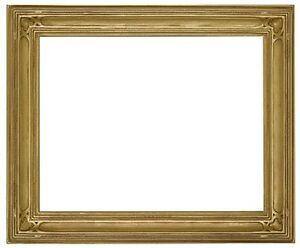 14 x 18 Arts /& Crafts Style Picture Frame HandApplied Gold Leaf Beautiful Style