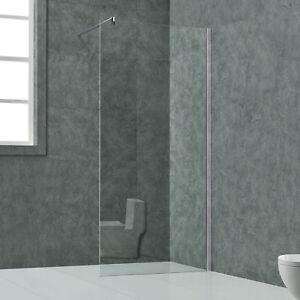 WalkIn Duschabtrennung Dusche Duschwand Duschtrennwand Glaswand Duschkabine Neu