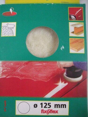 Lamb Wool-Stick Polishing Bonnet Ø 125 mm Polishing Discs Wolfcraft 2 Piece