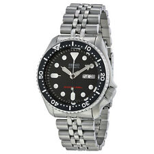 Seiko SKX007K2 Black Dial Stainless Steel Automatic Men's Diver Watch