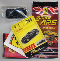 Micro Cars 2015 FERRARI 458 Italia #06 +card+sticker+bag+bpz 1/100 Kyosho MIB