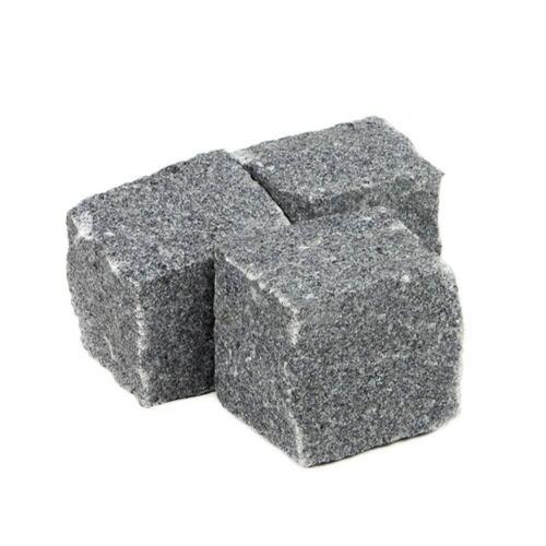 Kopfsteinpflaster Pflastersteine Granit Anthrazit Granitpflaster €0,259//KG
