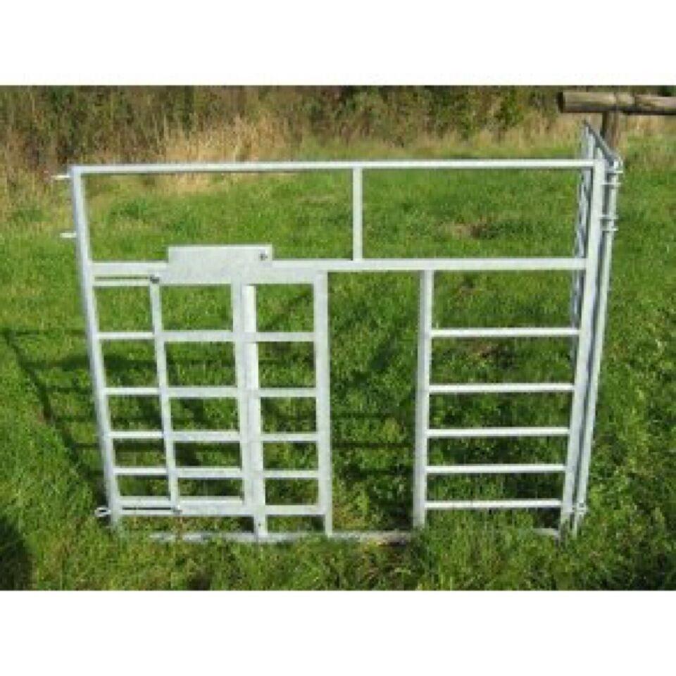 Stald og mark udstyr til får.