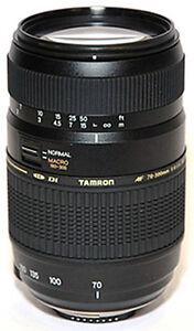 TAMRON-OBIETTIVO-70-300-mm-f-4-5-6-Di-LD-Macro-AF-PER-CANON
