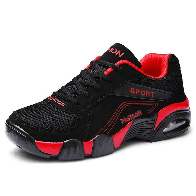 9d77e590e5ec Mens Fashion Casual Sports Shoes Shoes Shoes Youths Walking Travel Mesh Athletic  Sneakers 9 08508f