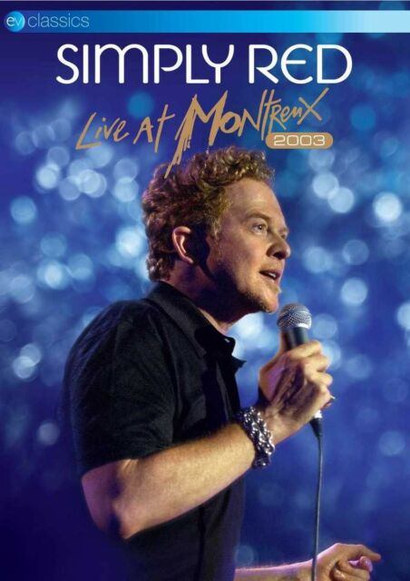 SIMPLY RED - Live At Montreux 2003, 1 DVD
