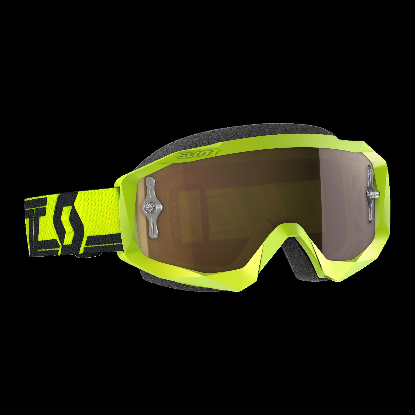 New 2019 SCOTT Hustle X Goggle w// Mirrored Lens Motocross Dirt Bike ATV MTB UTV