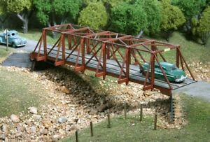 American-Model-Builders-727-HO-Wood-Truss-Auto-Bridge-Kits