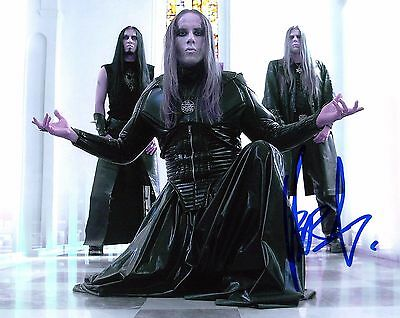 Gfa Behemoth Rock Star Adam Nergal Darski Signed 8x10 Photo Proof A4 Coa Exquisite Craftsmanship;
