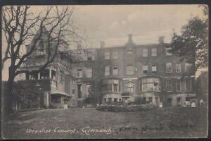 London-Postcard-Ibrsuline-Convent-Greenwich-RS5136