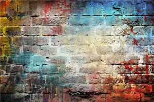 Studio Abstract Photography Background Brick Wall Photo Backdrops 7x5ft Vinyl