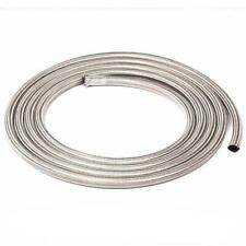 An8 8an Fitting Universal Nylon Stainless Steel Braided Fuel Oil Line Hose Kit