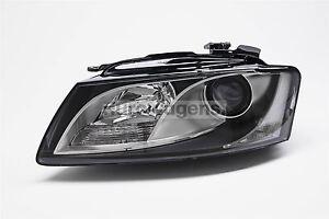 Audi-A5-09-11-Headlight-Headlamp-Left-Passenger-Near-Side-N-S-OEM-Valeo