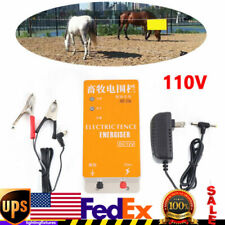 Solar Electric Fence Energizer Charger High Voltage Pulse Electric Fencing Usa