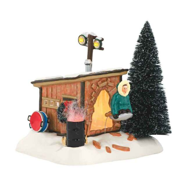 Department 56 Snow Village Christmas Vacation Griswold Sled Shack  4042408