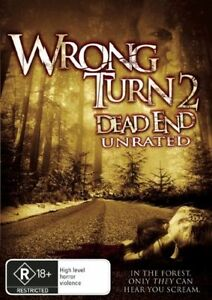 WRONG-TURN-2-DEAD-END-Unrated-NEW-DVD