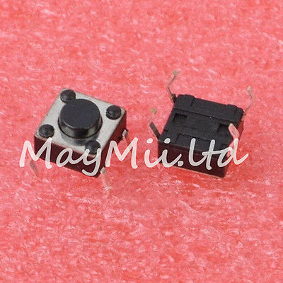 Brand New 30pcs 6?×H4.3(mm?) Tact Switch Push Button Hot Sales High Quality TL