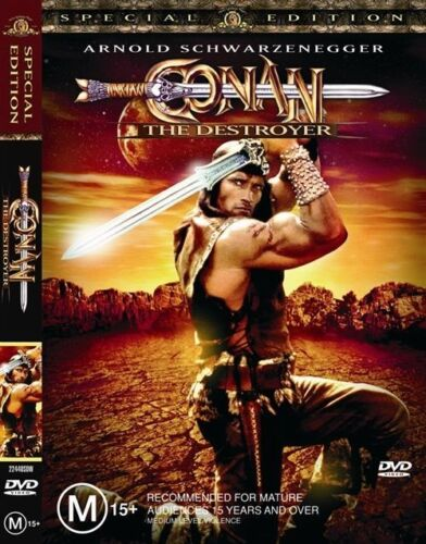 1 of 1 - Conan The Destroyer (DVD, 2004) Free Post!!