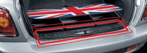NEW Genuine Mini Cooper R50 R53 S Coffre Chargement SILL COUVERTURE Panther Black 7029322