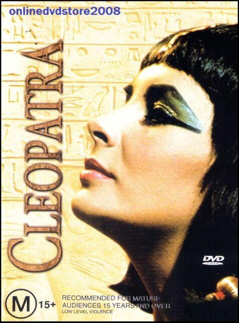CLEOPATRA (Elizabeth TAYLOR Richard BURTON) Classic Film (2 DVD SET) Region 4